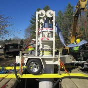 Rehabilitating sewer mains using Perma-Liner's  Perma-Main ™